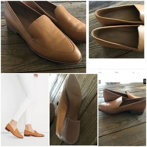 Madewell The Frances Loafer Caramel
